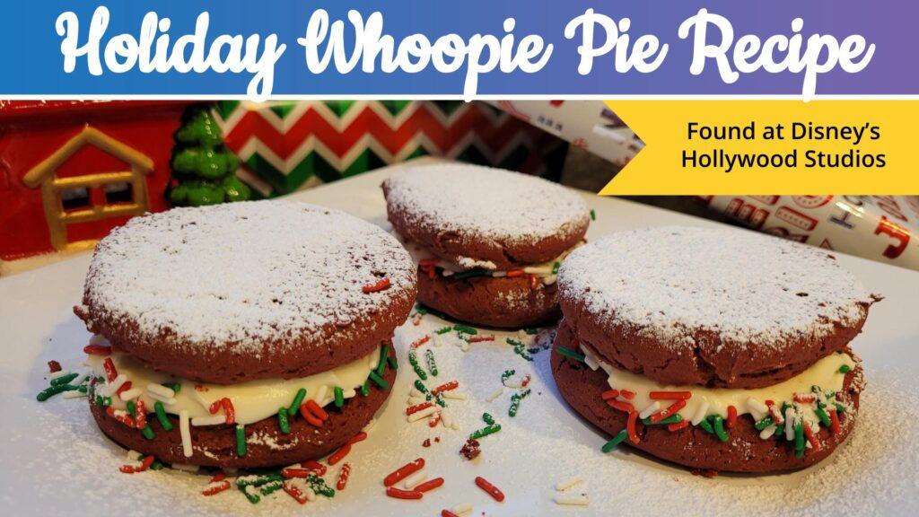 Holiday Red Velvet Whoopie Pie Recipe