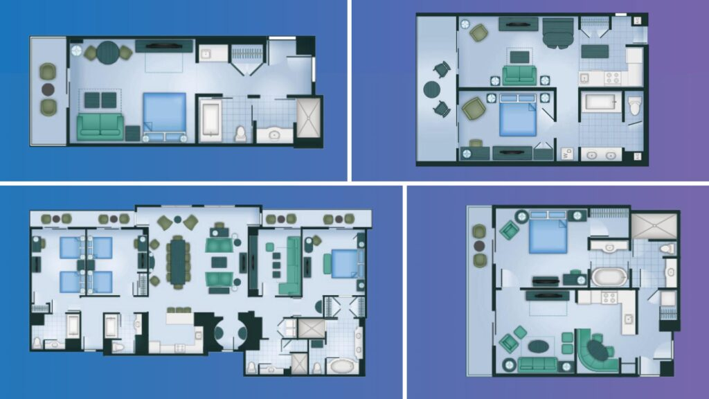 How To Use DVC Floor Plans For Vacation Planning