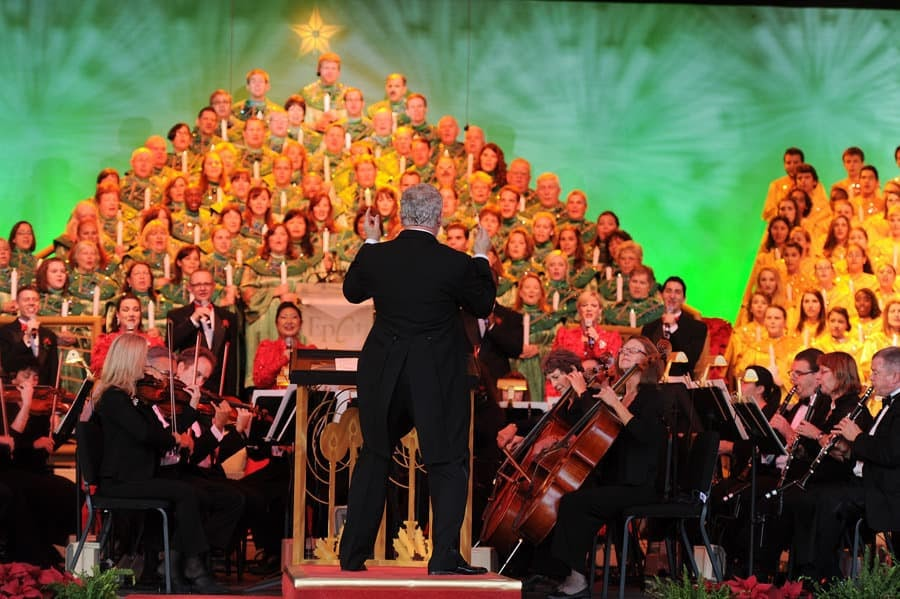 Epcot Candlelight Processional 2020