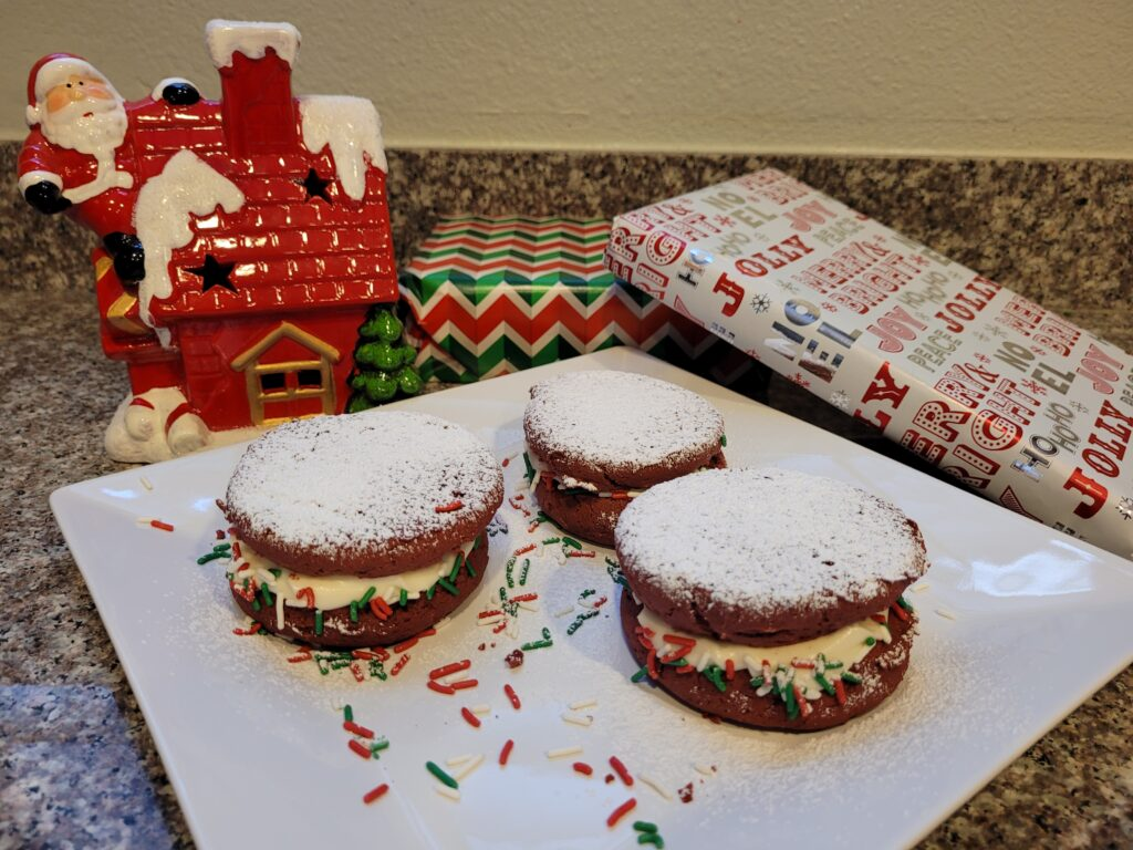 enjoy your holiday whoopie pies