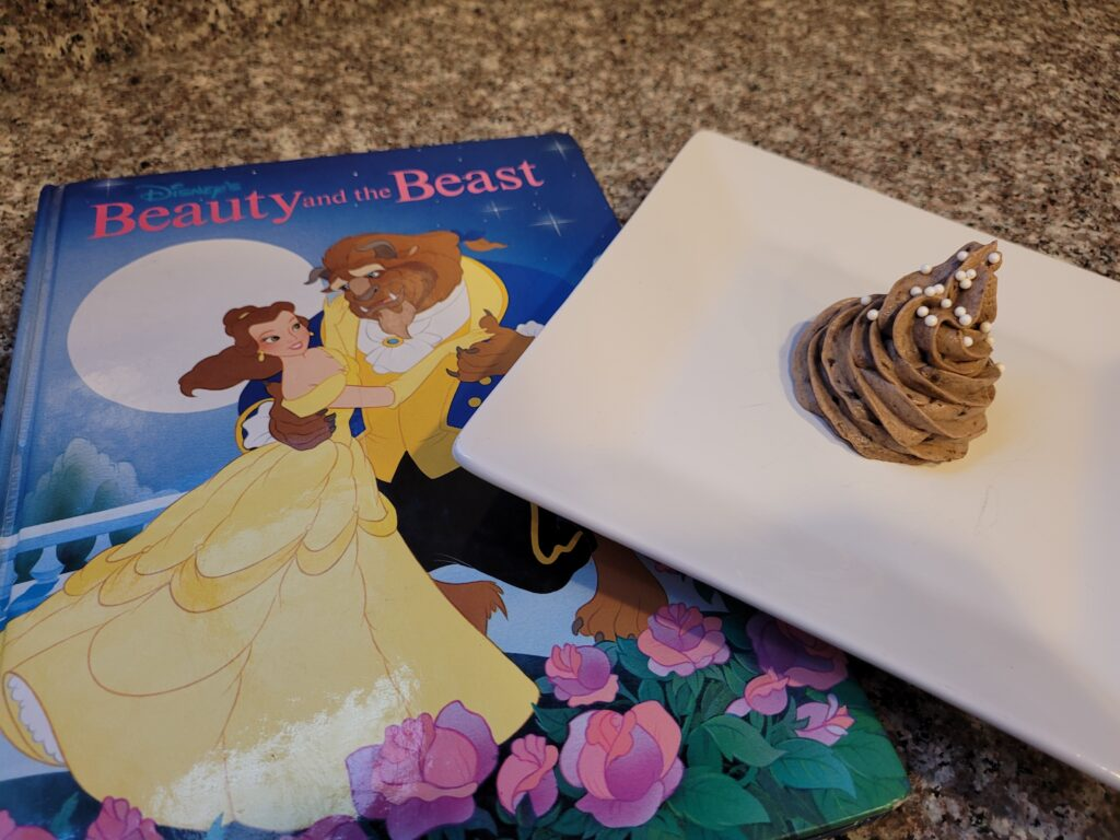 the grey stuff with beauty and the beast book