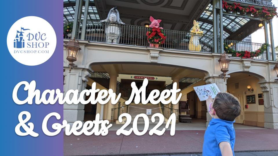 Meeting Disney Characters at Walt Disney World (2021)