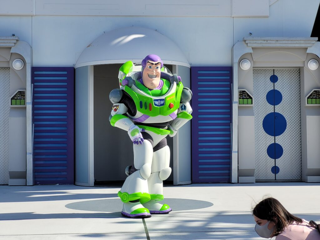 Buzz Lightyear in Tomorrowland - Magic Kingdom