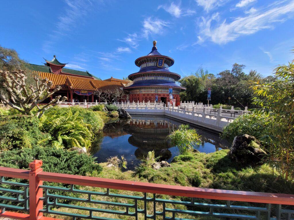 China Pavillion in World Showcase