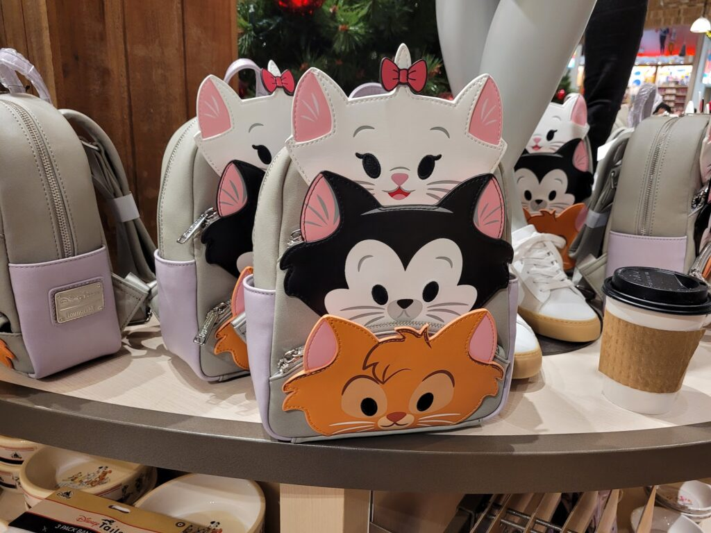 Disney Cats Loungefly Backpack in World of Disney at Disney Springs