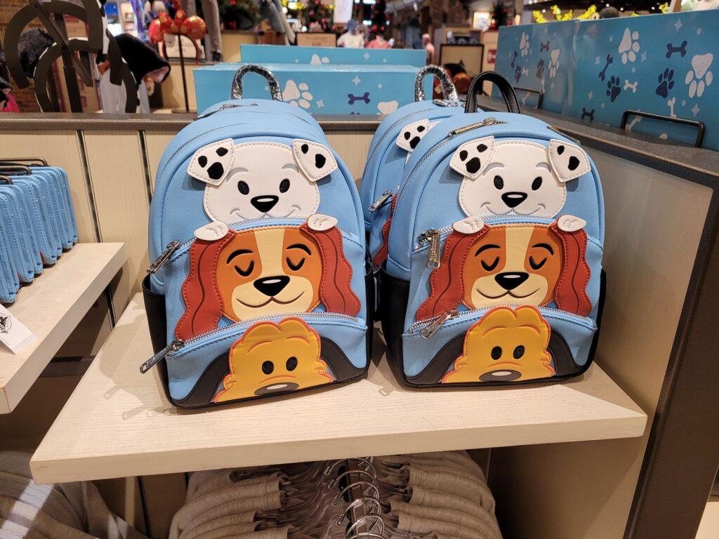 Disney Dogs Loungefly Backpack in World of Disney at Disney Springs