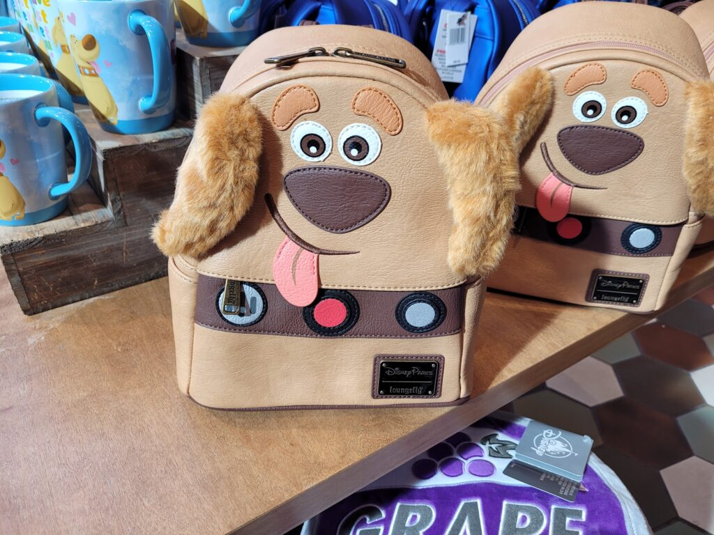Dug From UP Loungefly Backpack in World of Disney at Disney Springs