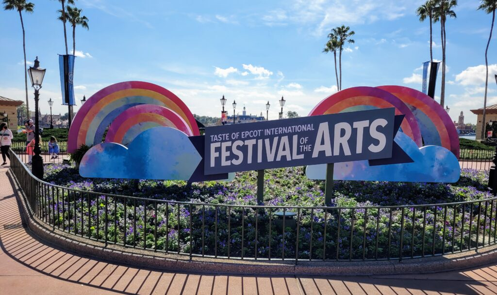 Festival of the Arts 2021 at Epcot