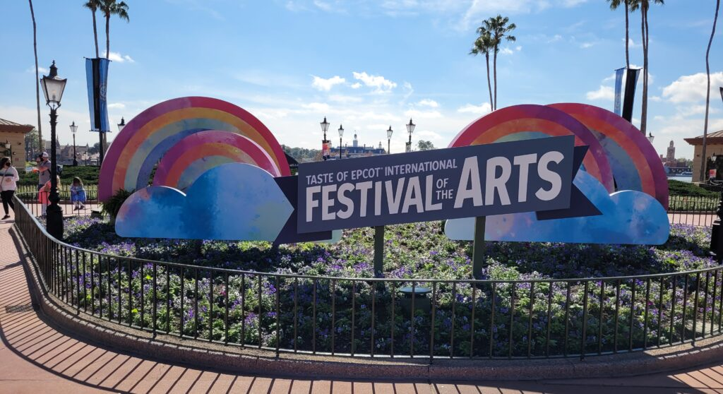 Festival of the Arts Sign 2021