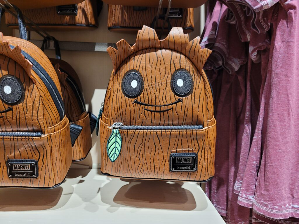 Groot Loungefly backpack at World of Disney in Disney Springs