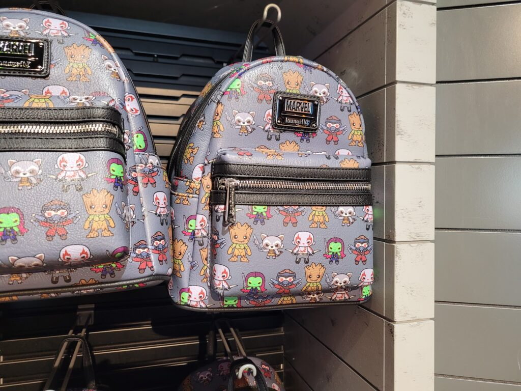 Guardians of the Galaxy Loungefly Backpack in Super Hero Headquarters at Disney Springs