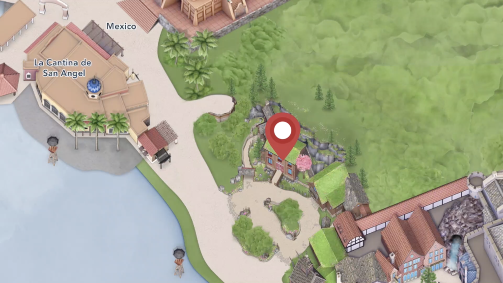 Location to Meet Anna and Elsa at Royal Summerhus in EPCOT