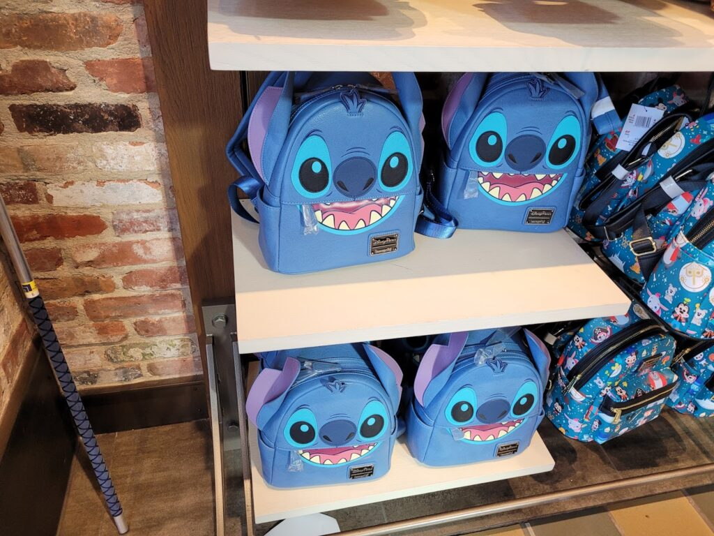 Stitch Loungefly Backpack at Disney Springs
