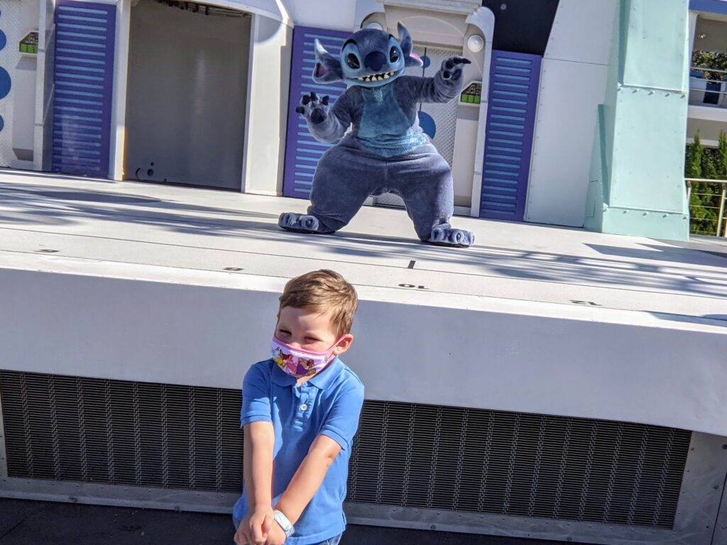Stitch in Tomorrowland - Magic Kingdom