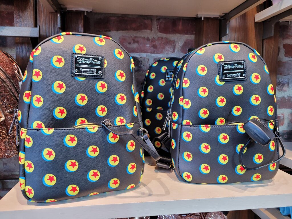 Toy Story Pixar Ball Loungefly Backpack in World of Disney at Disney Springs
