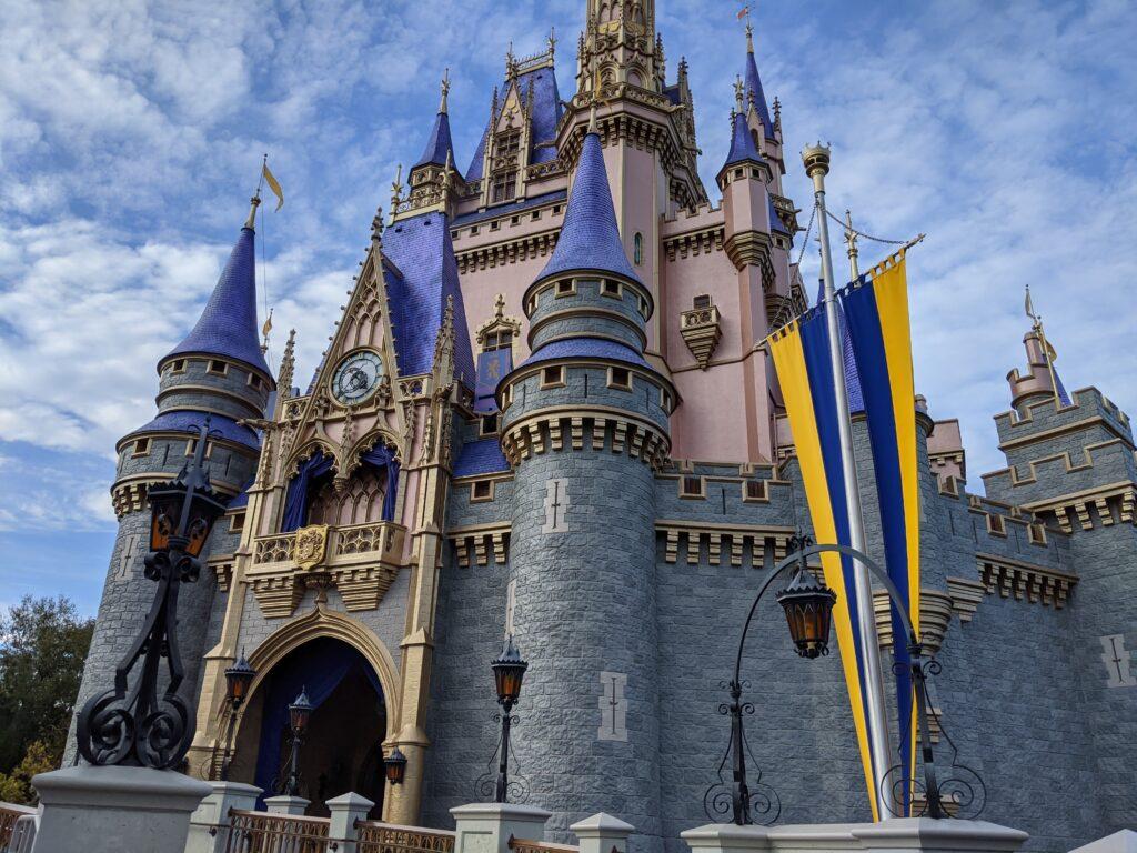 Cinderella's Castle Right-Hand View