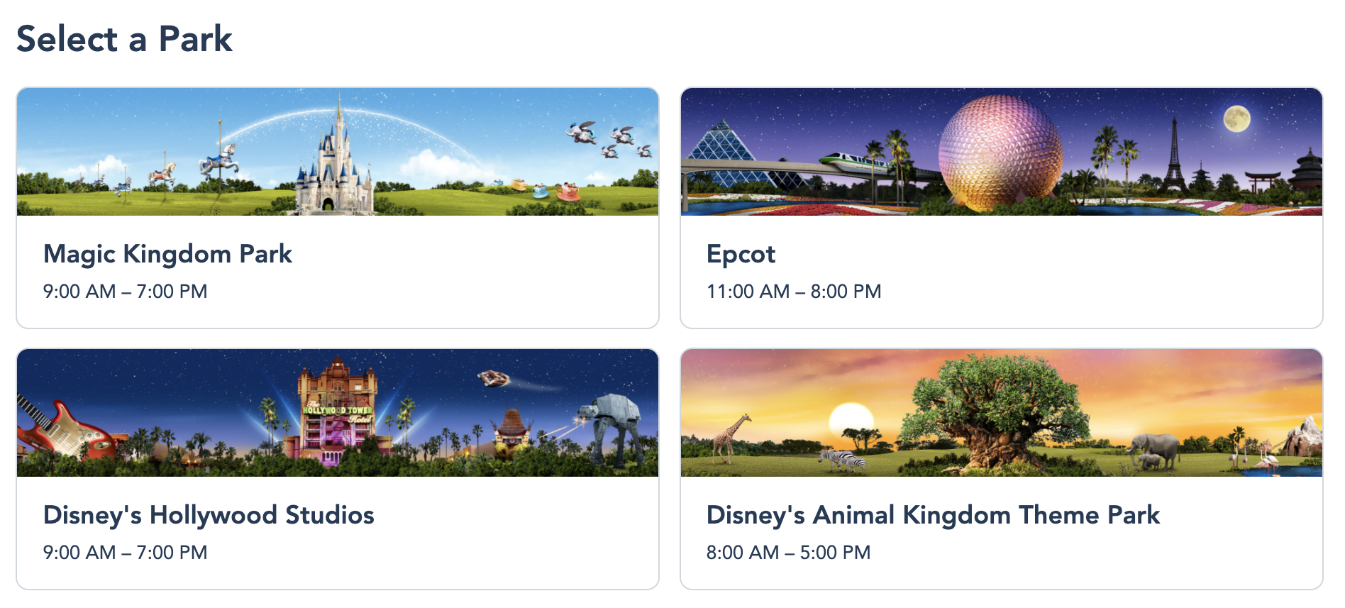 Disney's Park Pass Reservations Have Been Extended
