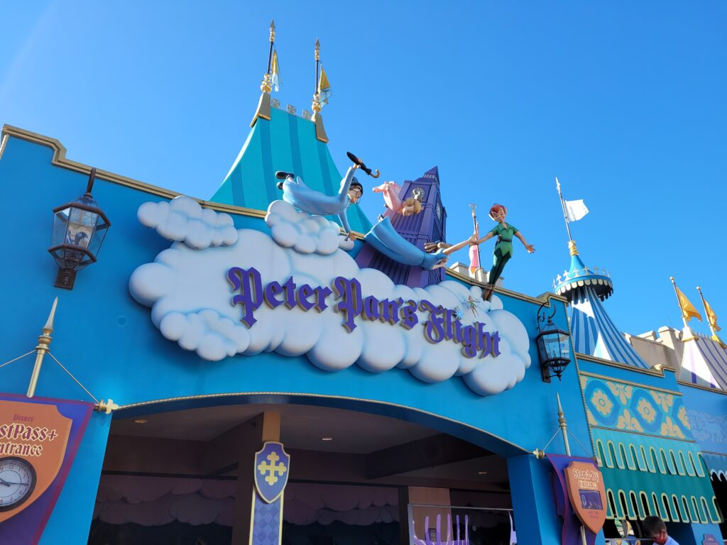 Peter Pan's Flight Magic Kingdom Attraction