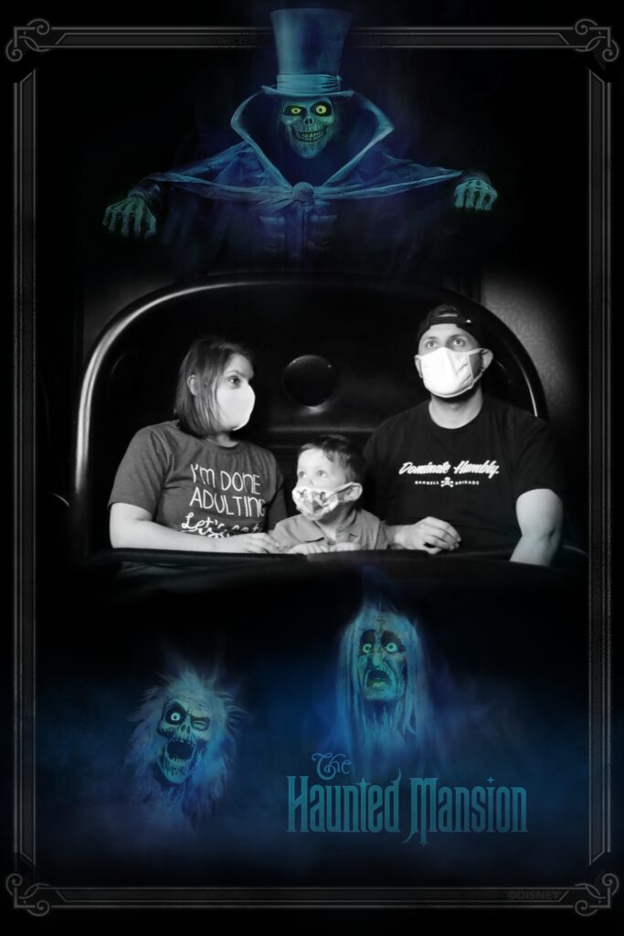 PhotoPass Photo from Disney's Haunted Mansion at Magic Kingdom