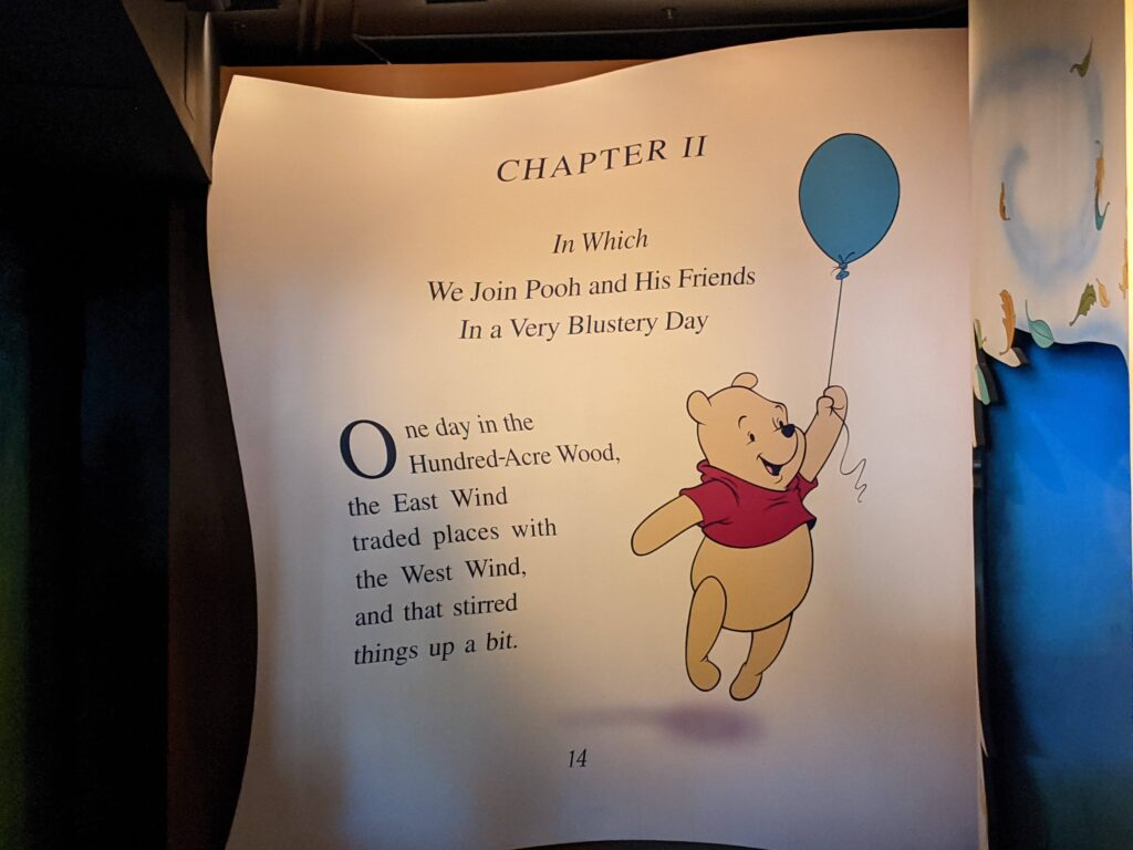 The Many Adventures of Winnie the Pooh Queue