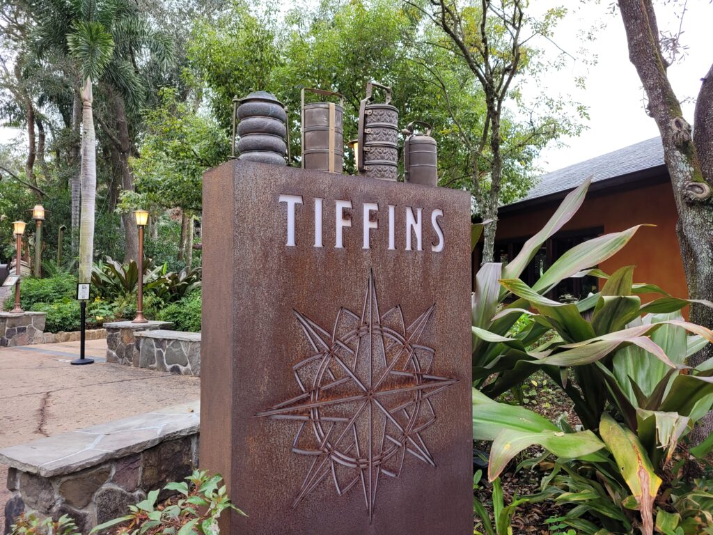 Tiffins Sign At Animal Kingdom