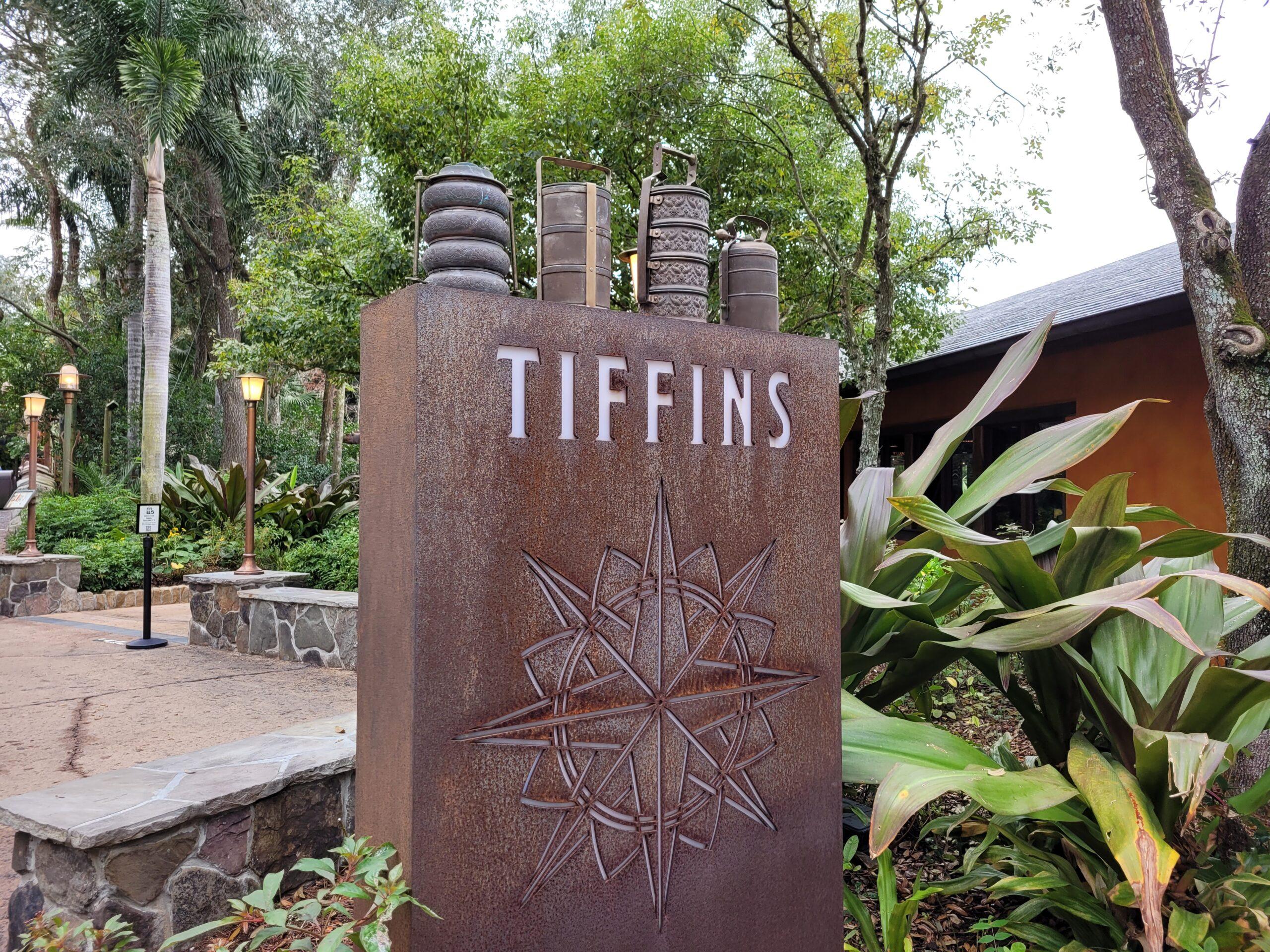 Tiffins Sign At Animal Kingdom
