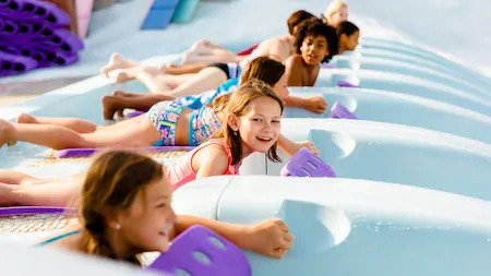 Toboggan Racers Attraction at Blizzard Beach