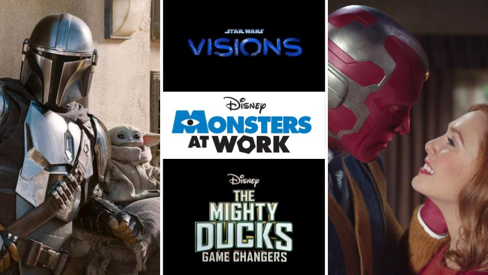 Upcoming Disney+ Originals for 2021