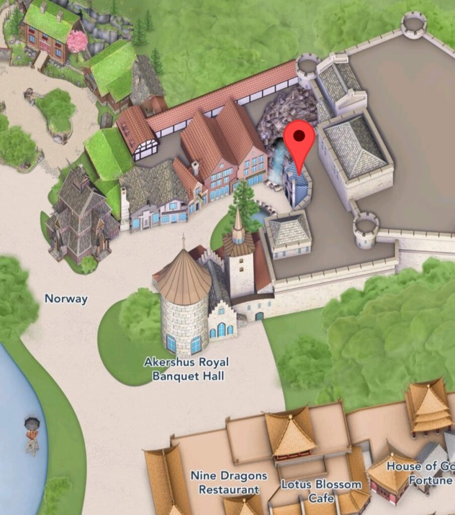 Where To Find Frozen Ever After Attraction