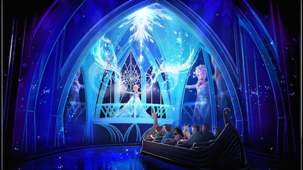 frozen ever after attraction at epcot
