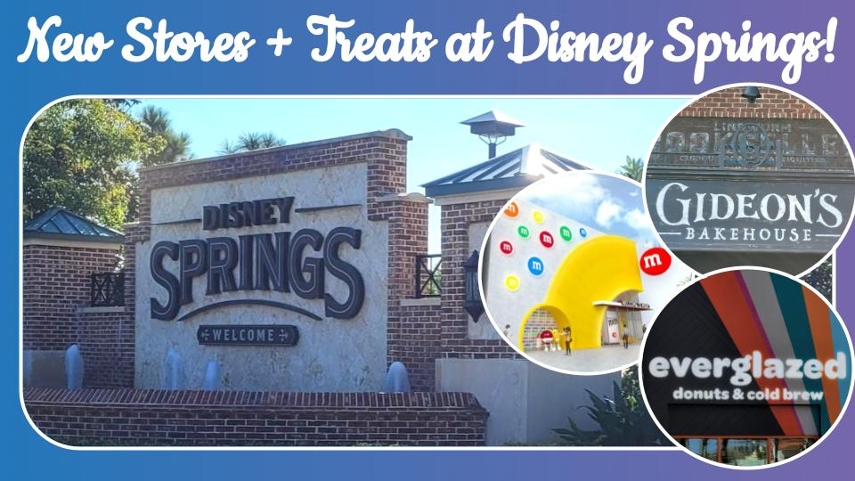 Disney Springs Update Early 2021 (Gideon's Bakehouse, M&M Store, and More!)