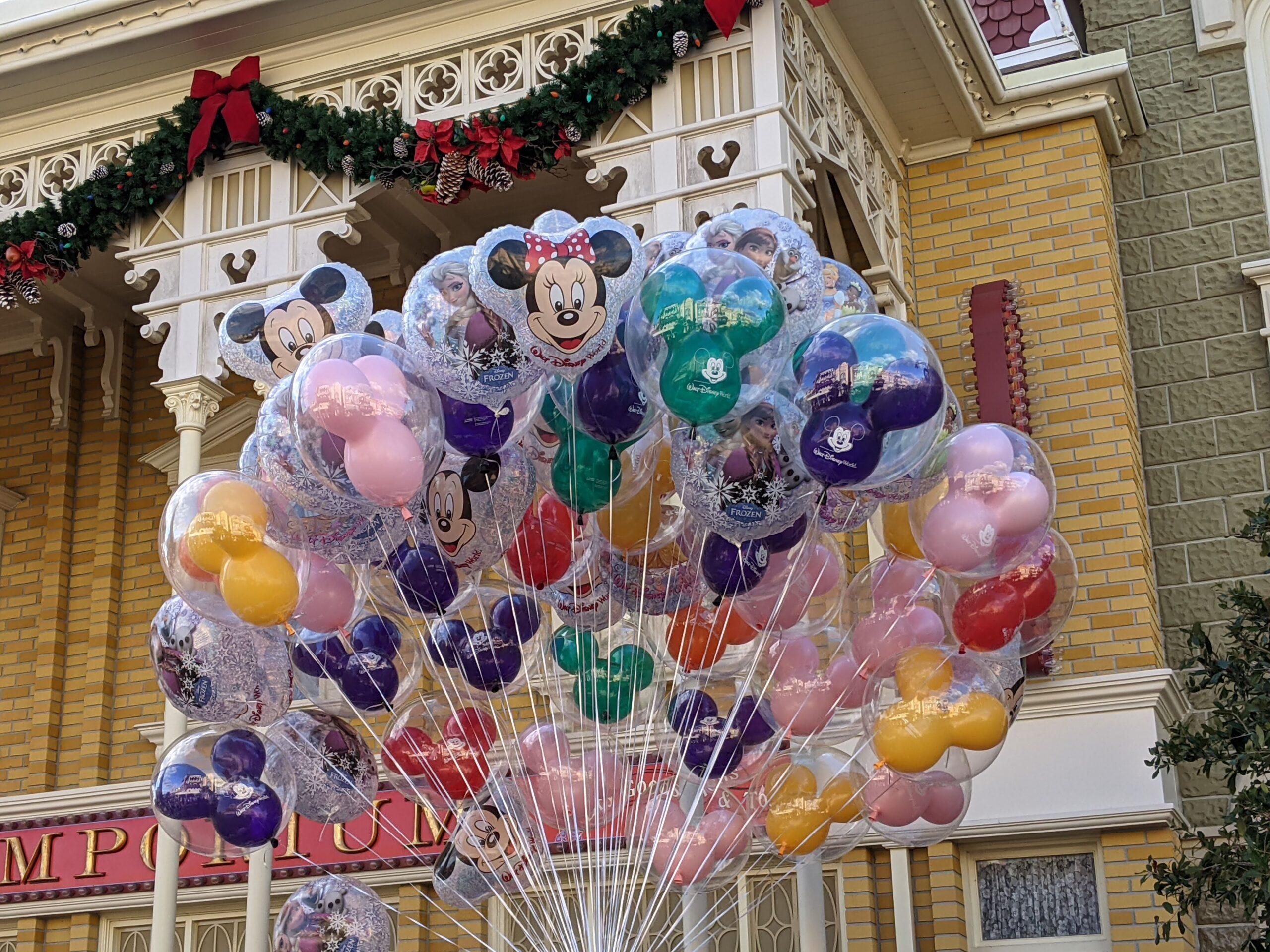 Balloons at Magic Kingdom