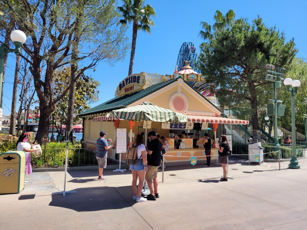 Bayside Brews Booth in Paradise Gardens Park