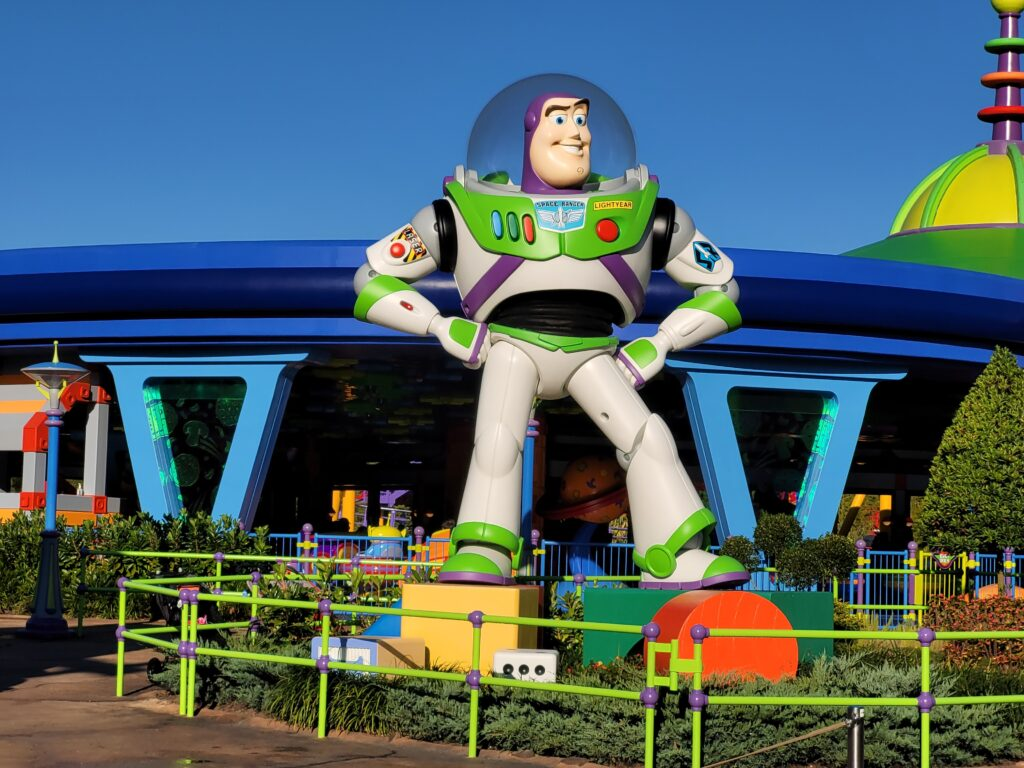 Buzz Lightyear Statue in Toy Story Land