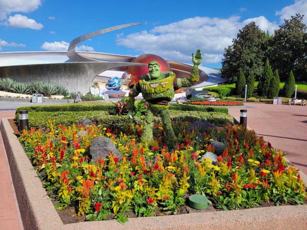 Buzz Lightyear Topiary