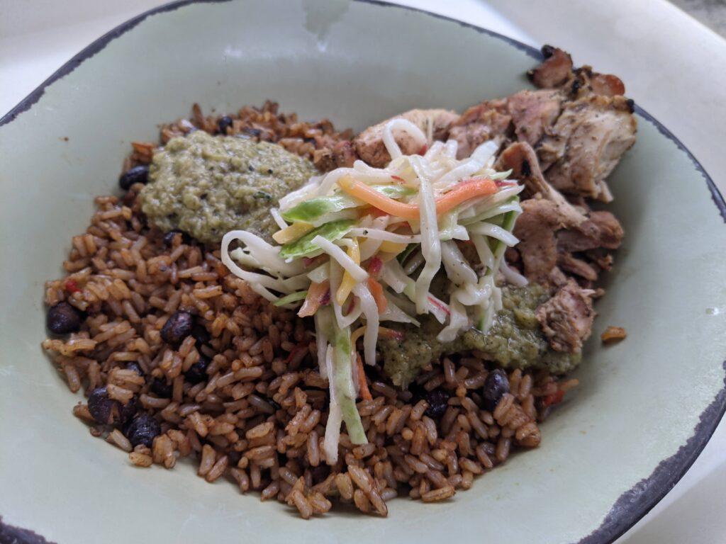Chicken Bowl from Satu'li Canteen