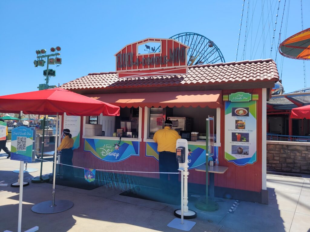 Cluck-A-Doodle-Moo Booth from A Touch of Disney