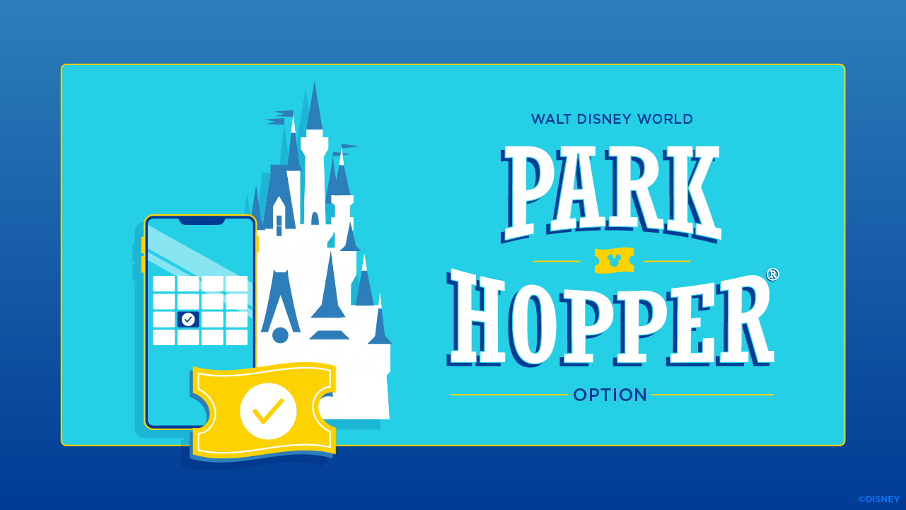Disney World Park Hopper Tickets