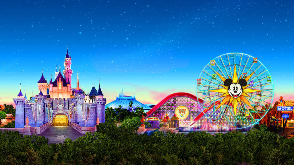 Disneyland Resort And California Adventure In Anaheim