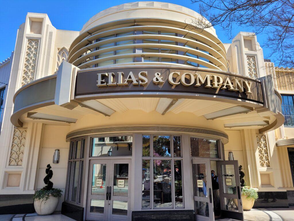 Elias & Company Sign in Buena Vista Street