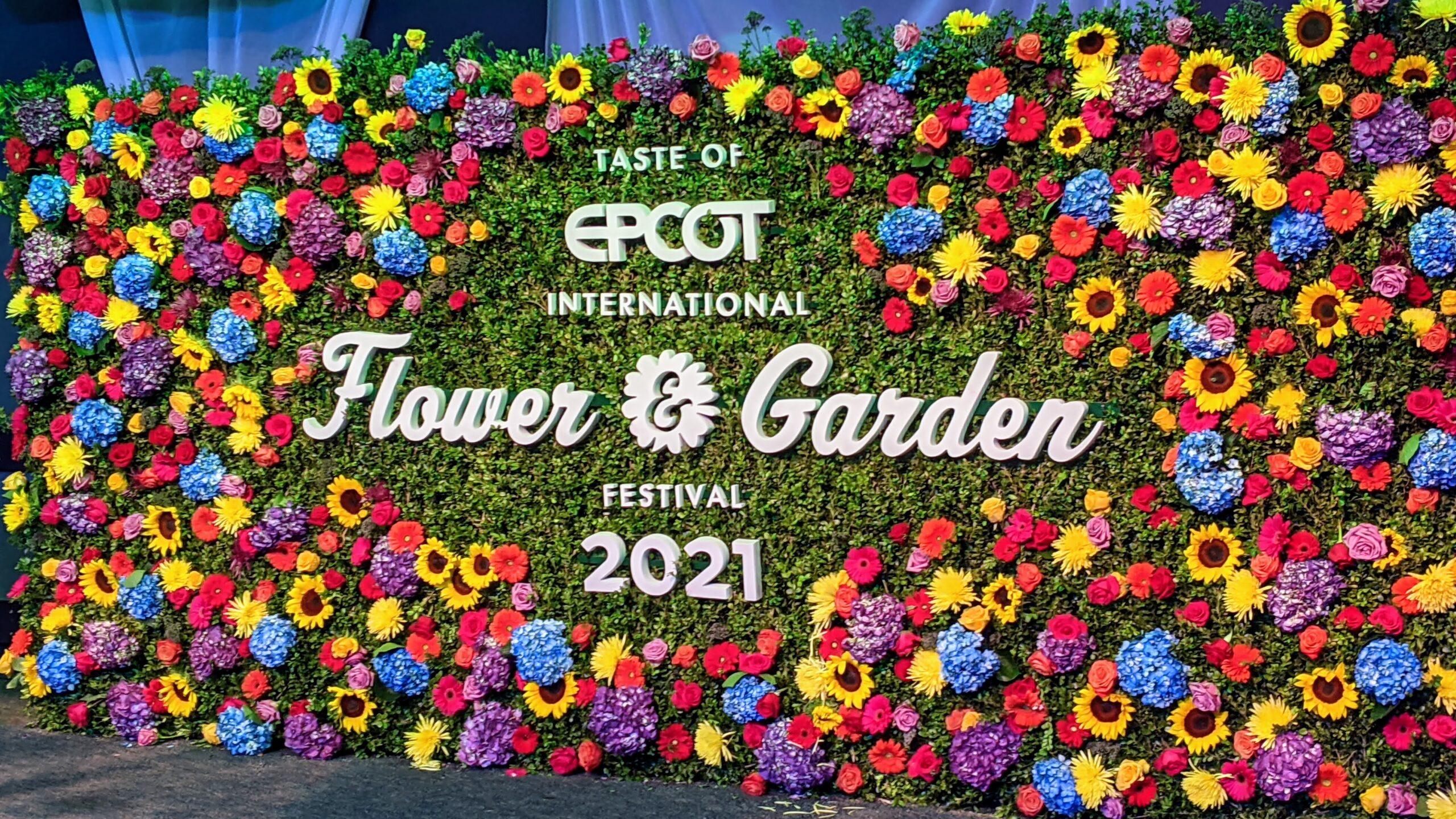 Epcot's Flower & Garden Festival 2021 Overview