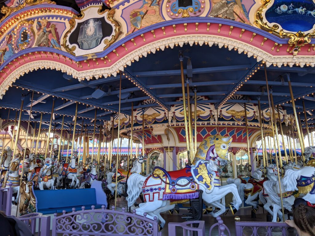 Horses from Prince Charming Regal Carousel