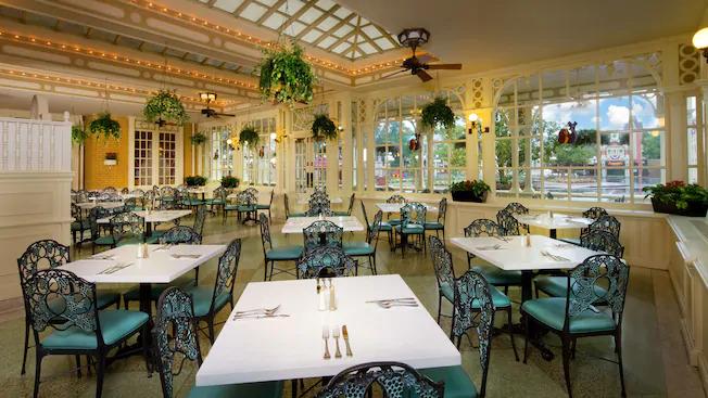 Inside Tonys Town Square Restaurant