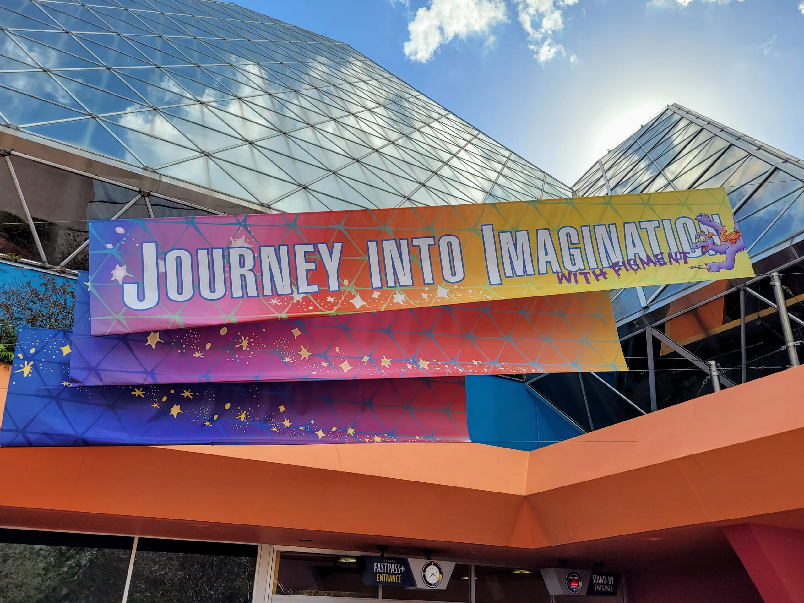 Journey Into Imagination With Figment Sign