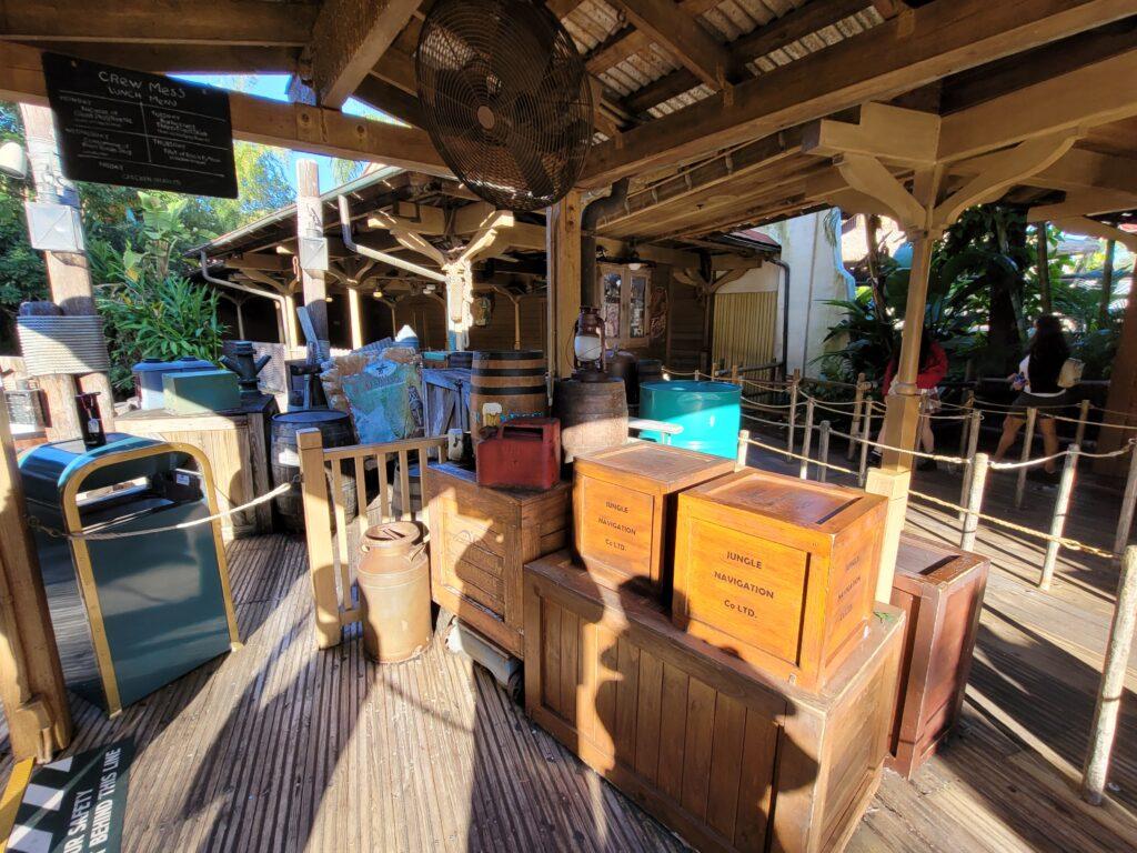 Jungle Cruise Queue at Magic Kingdom