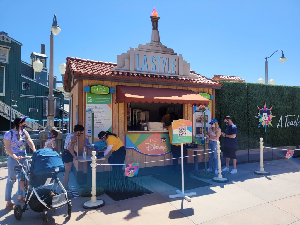LA Style Booth from A Touch of Disney