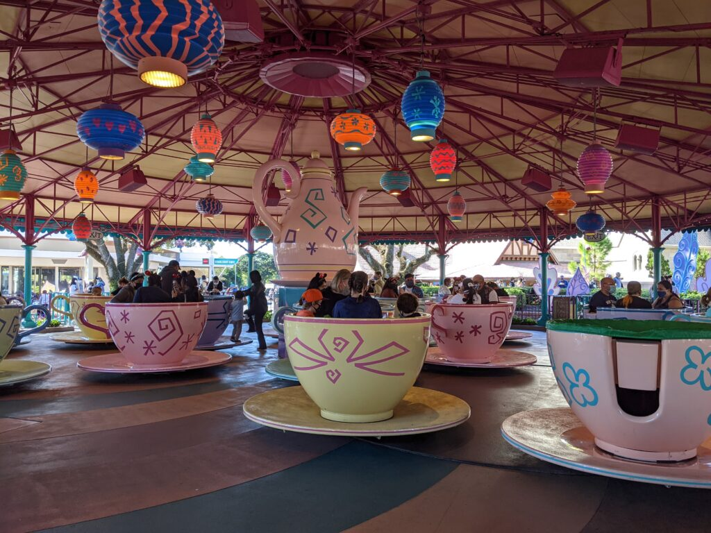 Mad Tea Party Tea Cups