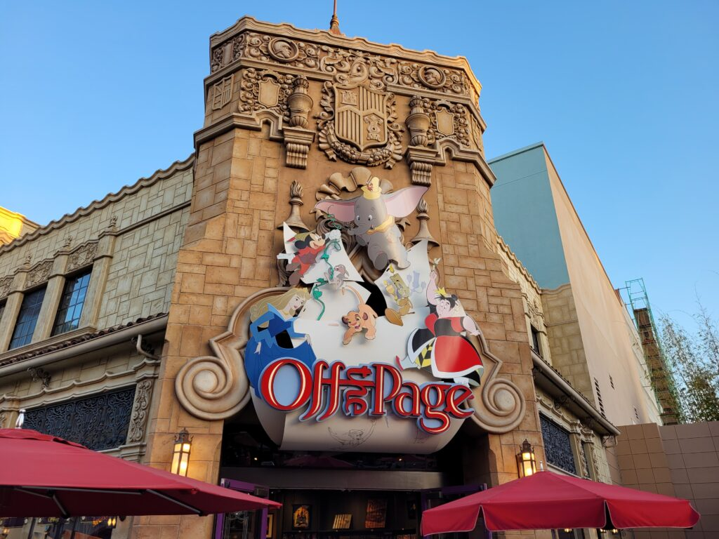 Off the Page in Hollywood Land
