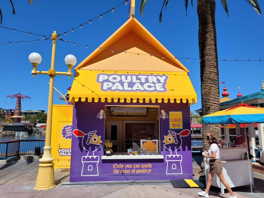 Poultry Palace in Pixar Pier