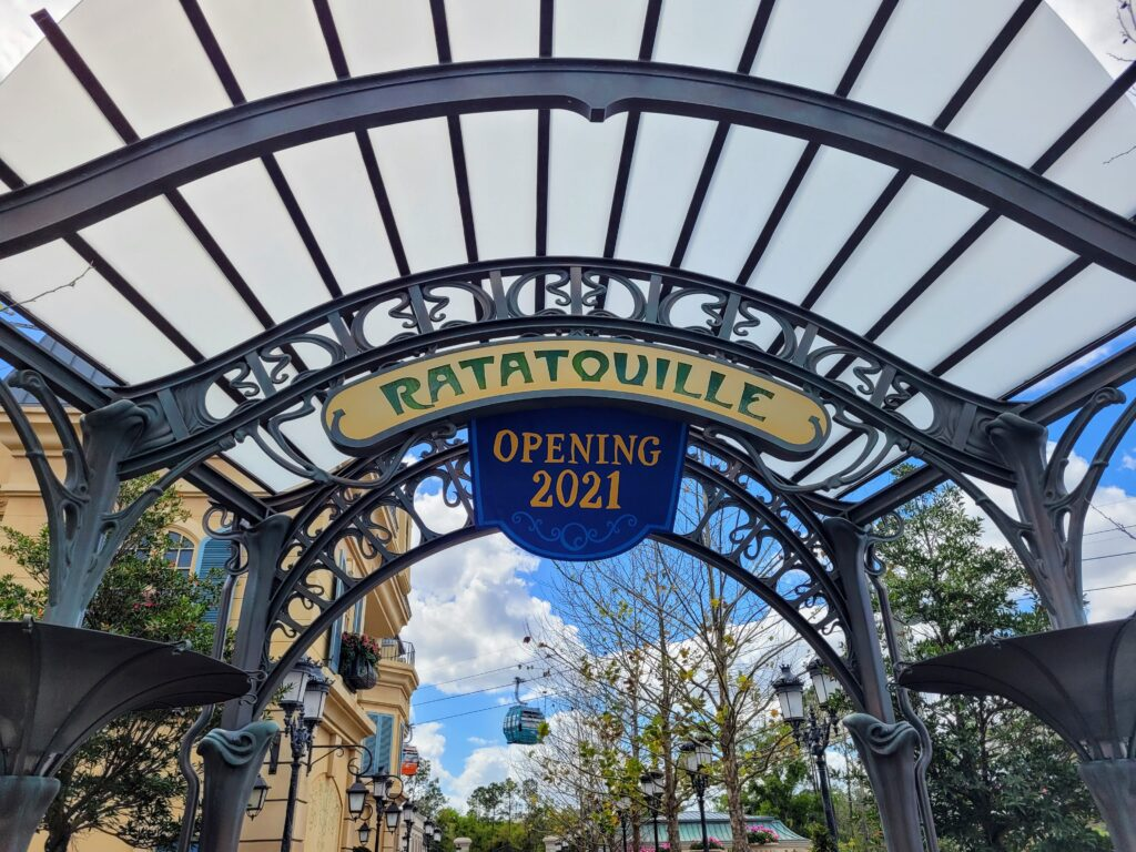 Remy's Ratatouille Adventure Opening Oct 1st 2021